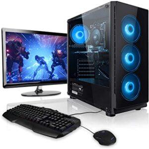 Pc Gaming Rapide et Puissant Bleu