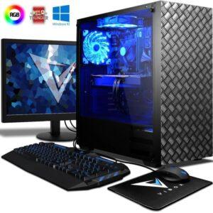 Pc Gamer Rapide et Puissant Bleu Windows 10